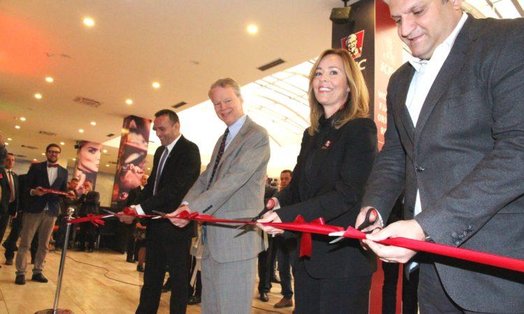 KFC Opening Ceremony in Kosova