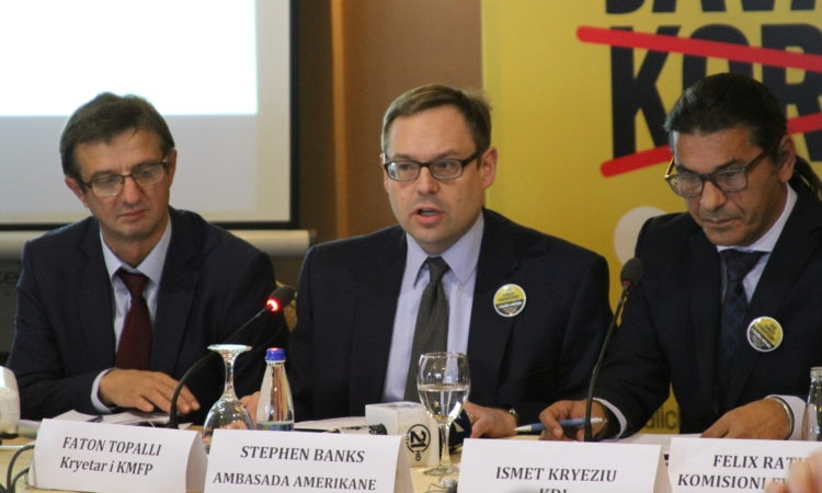 "Political Counselor Stephen Banks remarks at the at ""Transparency of Political Parties Financing"" Panel, December 7, 2016"