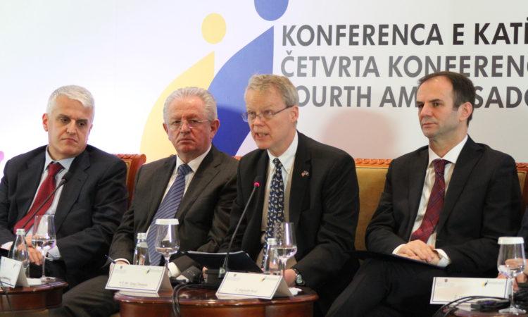 """Konferenca e katërtë e ambasadorëve """"Siguria e Kosovës dhe marrëdhëniet e reja me NATO-n"""", 20 dhjetor 2016"""