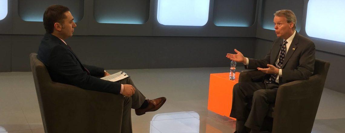 Ambassador Delawie's Interview with KTV's Rubikon