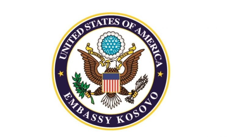 U.S. Embassy Pristina Logo
