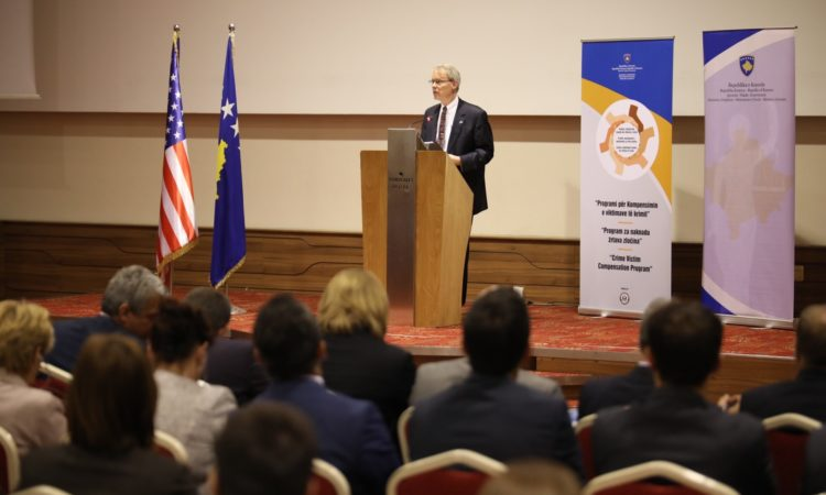 Launching Ceremony of the Kosovo Crime Victim Compensation Program May 11, 2017