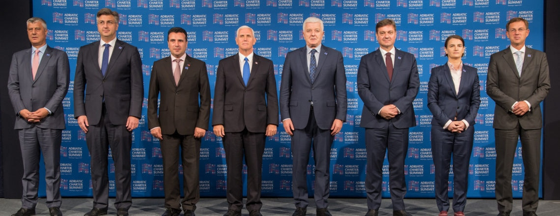 Remarks by the Vice President at the Adriatic Charter Summit, August 02, 2017
