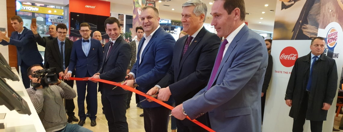 Burger King Official Opening in Pristina