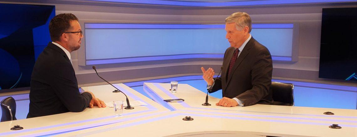 Intervista e Ambasadorit Kosnett për RTK