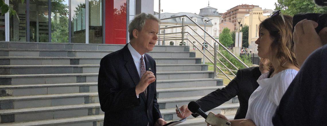 Ambassador Delawie's Statement to Radio Free Europe