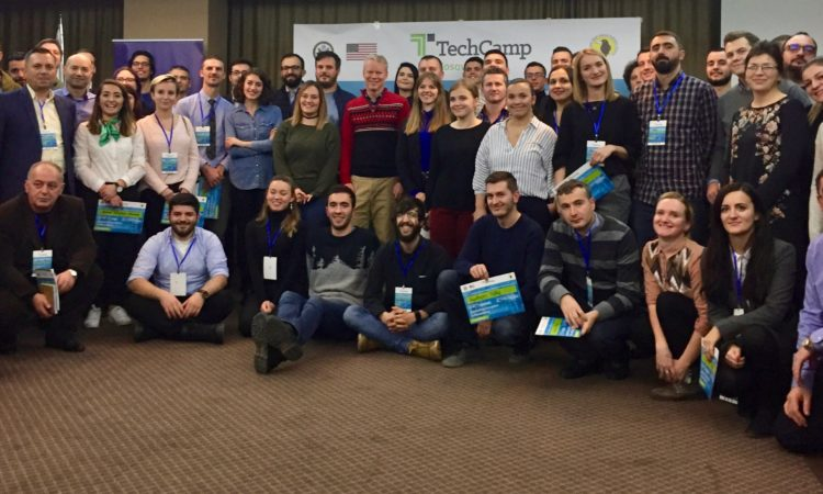 Group Photo at TechCamp Kosovo