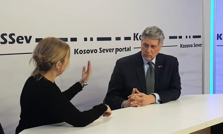Ambassador Kosnett's Interview with KoSsev Portal, December 28, 2019
