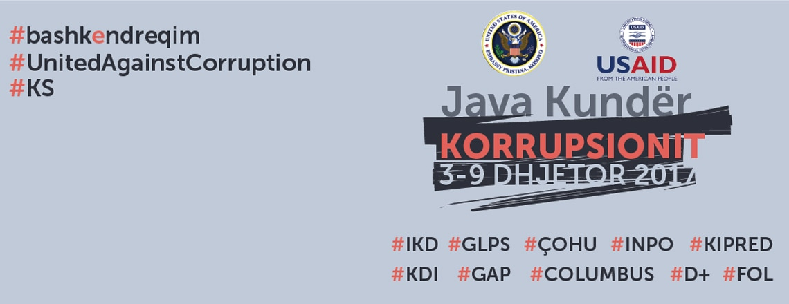 Anti-Corruption Week in Kosovo