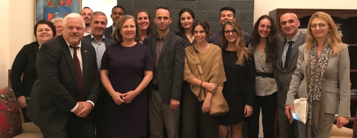 Iu shprehim mirëseardhje studiusve të programit Fulbright nga SHBA