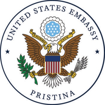 Downloadable U.S. Embassy Pristina Seal
